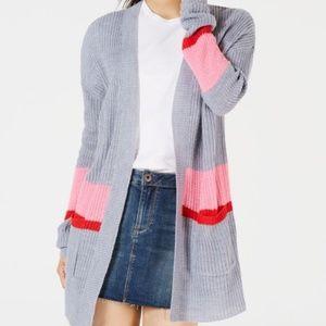 🎉 5/$40 🎉 Colorblocked Long Cardigan
